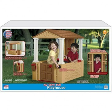 American Plastic Toys, Realistic Playhouse, Multicolor