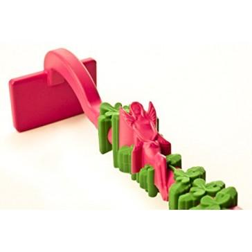 Constructive Eating Garden Fairy Vines Hoe Pusher Utensil