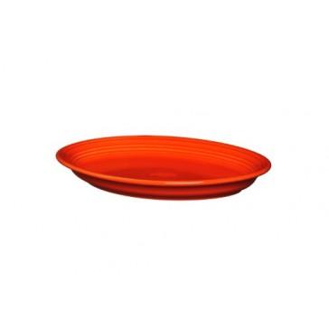Fiesta Oval Platter, 13-5/8-Inch, Poppy