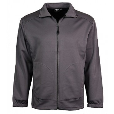 Akwa Men's Soft Shell Full Zip Jacket Made in USA