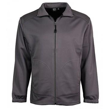 Akwa Men's Soft Shell Full Zip Jacket Made in USA