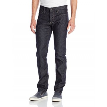 John Varvatos Star USA Men's Bowery Fit V Stitch Pocket Jeans , Indigo, 28 Regular