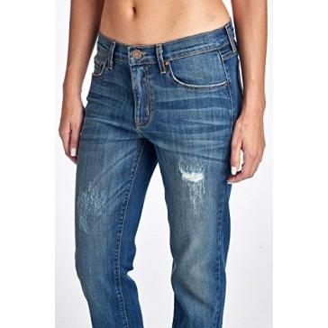 Angry Rabbit Womens Vintage Wash Boyfriend Jeans Premium Designers Denim Made in USA-25