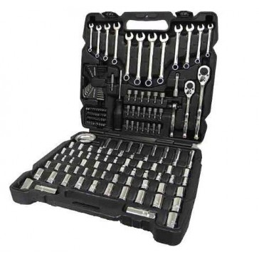 New Channellock 39053 Professional 171pc Mechanic`s Tool Set Socket Wrench Case