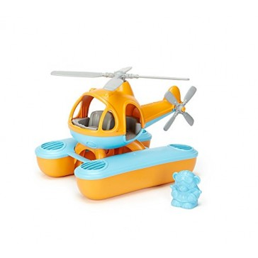 Green Toys Seacopter, Orange/Blue