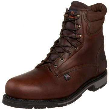 "Thorogood American Heritage 8"" Safety Toe Boot, Black Walnut Badlands, 7 D US"