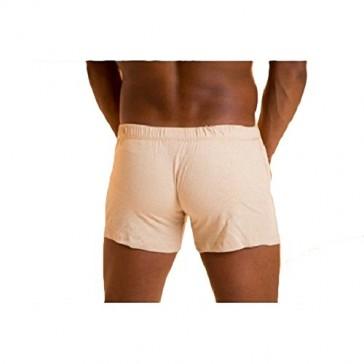 Organic Cotton Colours Mens Boxers Tan Small
