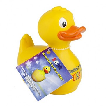 CelebriDucks Sam the RUBBER DUCK Made in USA