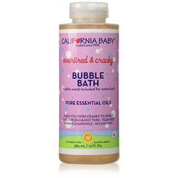 California Baby Aromatherapy Bubble Bath - Overtired and Cranky - 13 oz