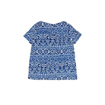 Big Girls Kids Fashion Floral Cap Sleeved Chiffon Soft Blouse Top USA BL L