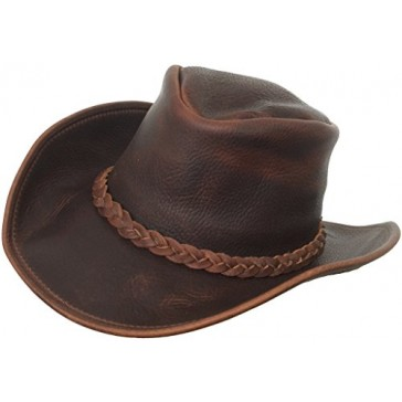 Headchange Made in USA Top Grain Western Hat (Medium)