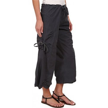 XCVI Women's Cargo Gaucho Crop Charcoal Pants XS (Women's 0-2) X 23