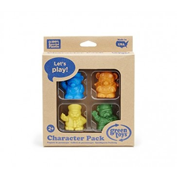Green Toys Character Toy Figure (4 Pack)