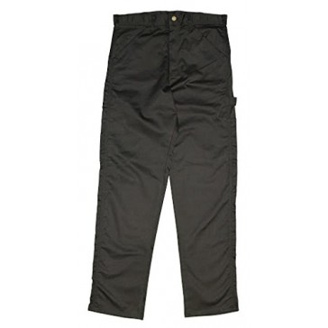 Twill Painter Carpenter Work Pants Black 28X30 - Made in the USA