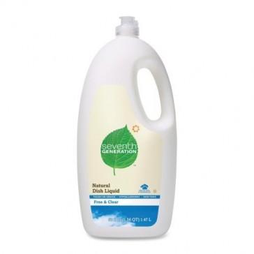 Seventh Generation Dishwashing Liquid, Natural, 50 Ounce