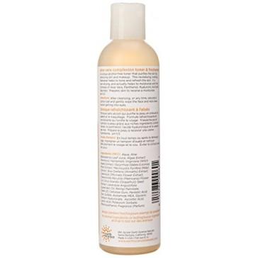 Facial Toner & Freshener-Aloe Vera Earth Science 8 oz Liquid