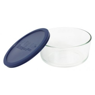 Pyrex Simply Store 7-Cup Round Glass Food Storage Dish