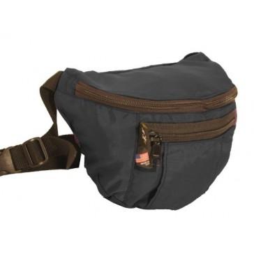 Tough Traveler Sidekick Waistpack - Made in USA - Black