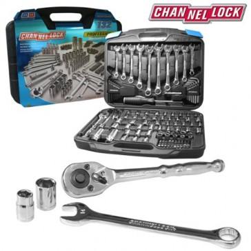 CHANNELLOCK 132pc Mechanic's Tool Set