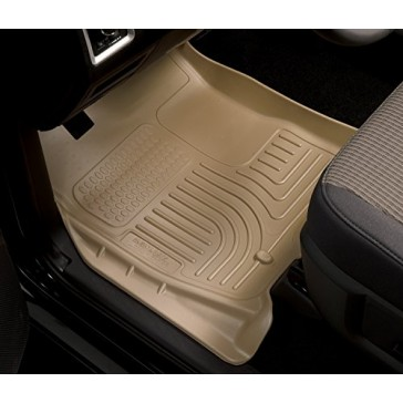 Husky Liners Front Floor Liners Fits 15-16 F150 SuperCrew/SuperCab