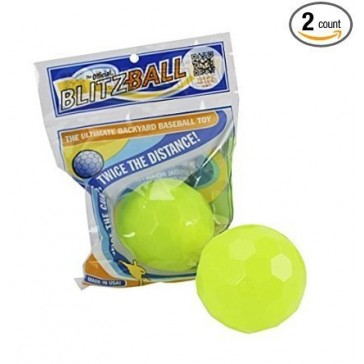 Blitzball Plastic Baseball (2 Balls)