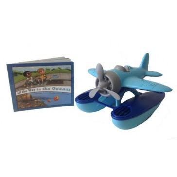 Green Toys Seaplane Safe Seas Set, Blue