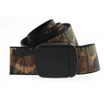 Camo Hiker Web Belt Made in USA By Thomas Bates
