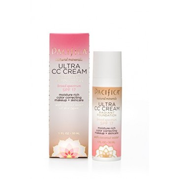 Pacifica Ultra CC Cream Radiant Foundation Warm/Light