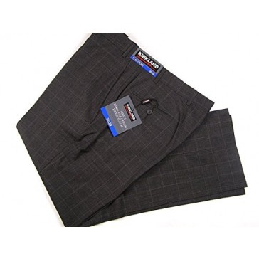 Kirkland Signature Men's Wool Flat Front Dress Pants 44x32