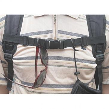 "Lightweight 1"" Nylon Webbing Sternum Strap Backpack Chest Harness Open Loop"