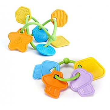 Green Toys Twist Teether & First Keys