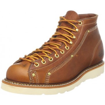 Thorogood 814-4233 Men's American Heritage Wedge Lace-to-Toe Roofer Boot Tobacco Gladiator 5.5 D US