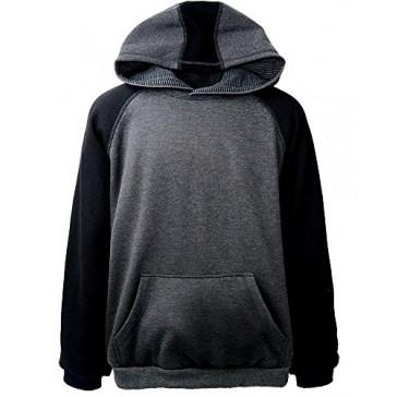 Akwa Men's Raglan Pullover Hoodie Made in USA