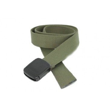 XL Hiker Web Belt Made in USA by Thomas Bates (X-Large, Olive)