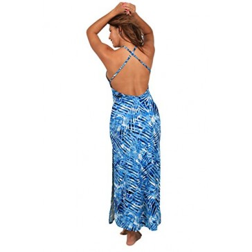 "Ingear ""Maxi Dress"" Tent Maxi Dress (Small, Blue.)"