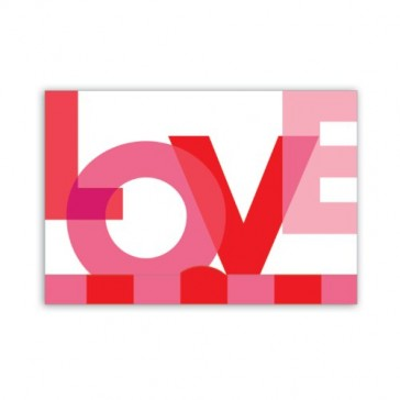Jillson Roberts Gift Card Holders, Valentine's Day, Big Love, 6-Count (GCP026)