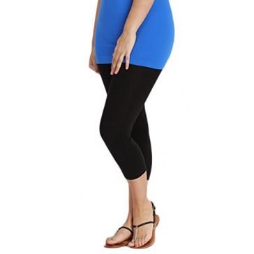 LVG Plus Size Capri Leggings Nikibiki