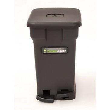 CompoKeeper Kitchen Compost Bin, Black, 6 gallon