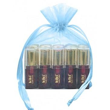 Kiki Luxe Color Lipstick Gift Set, 5-Pieces
