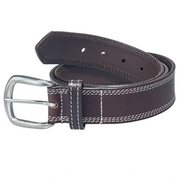 Working Person's 18272 Oil Tanned Brown Leather Work Belt - Made In The USA (34)