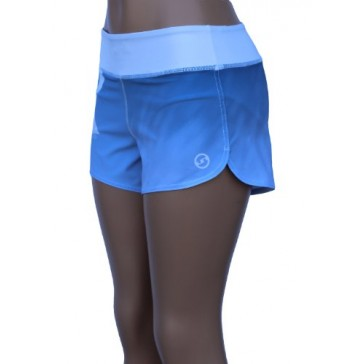 UN92 WC14 Women's Bicurve Fit Shorts, Blue-2