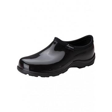 Principle Plastics Sloggers Women's Blue Paw Print Rain & Garden Shoes, Size 6