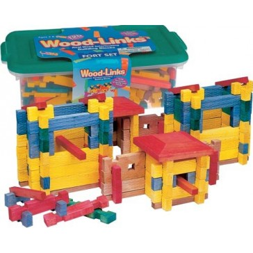 Wood-Links Fort Set by Roy Toy