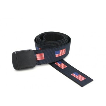American Flag Hiker Belt Made in USA by Thomas Bates