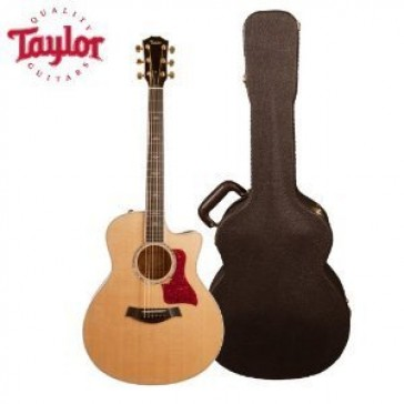 Taylor Guitars JB-616CE Acoustic Guitar with Deluxe Brown Hard-Shell Case