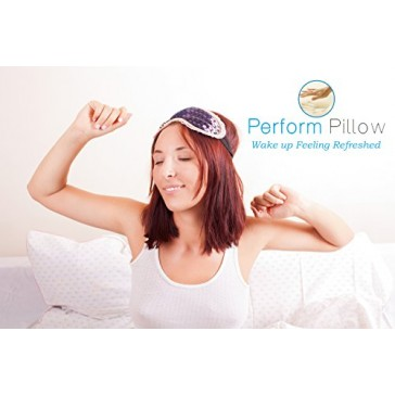 Low Profile Memory Foam Neck Pillow - Double Contour - Chiropractor Approved - Washable Soft Bamboo Cover - Great for Neck Pain, Sleeping (Low Profile)