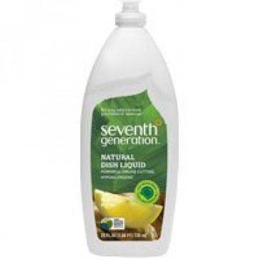 Seventh Generation Natural Dish Liquid Fresh Citrus and Ginger -- 25 fl oz