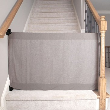 The Stair Barrier Wall to Banister Gate, Heather Grey, Regular