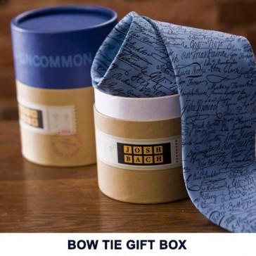 Josh Bach Baseball Themed Self-Tie Men's Silk Bow Tie, Made in USA