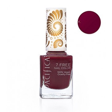 7 Free Nail Polish (Red Red Wine)